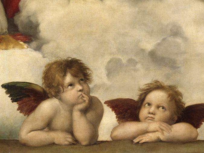 Sistine_Madonna_Group_of_Angels_Raphael