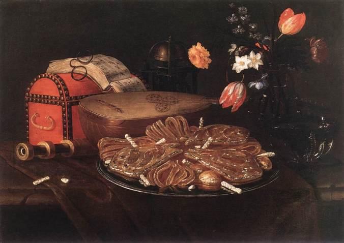 Recco,_Giuseppe_-_Still-life_with_the_Five_Senses_-_1676