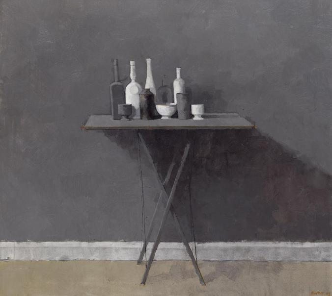 William Brooker, Grey Still Life I, 1969