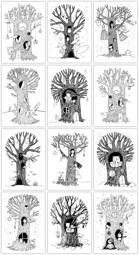 kalendarz-kolorowanki